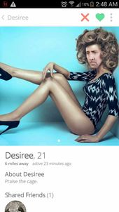 50 Most Creepy Tinder Profiles They Might Just Work – Page 8 of 10 – Wackyy