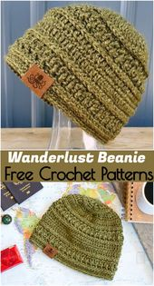 Crocheting a hat is always a good gift idea. So, I have shared these 15 free cro…