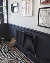 38 Cozy Black and White House Interior Design #black #houseinterior #homedecor #…