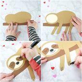Das entzückendste Sloth Craft, das Sie je gesehen haben – Jeena F.