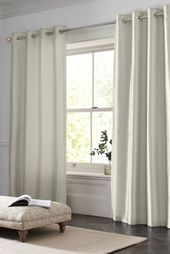 Champagne Faux Silk Curtains