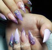 30 wunderschöne Matte Purple 💜 Nails Design, das Sie in Prom versuchen können – Seite 6 von 6 – F …   – purple nails
