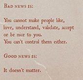Tolle Neuigkeiten: Es spielt keine Rolle #Selbstfürsorge #Selbstliebe #Positivzitate #Zitierenvon …   – Inspirational Quotes