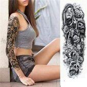 (Werbung) TempTattoos ™ – Wasserdichte temporäre Tattoos für Ärmel – Erwach… – narbe