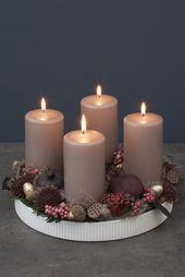 Créez une jolie décoration personnelle de l'Avent    – Christmas