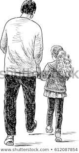 Father And Daughter Love Pencil Sketch Google Search Father