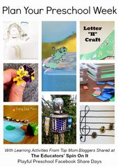 Lesson Plans for toddlers Luxury Playful Preschool Lesson Plan Math Reading Science and