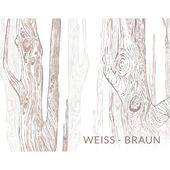 East Urban Home 2 pcs. Canvas picture set living forest in white / brown | Wayfair.de