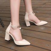 $ 27.00 USD Zapatos de verano para mujer zapatos puntiagudos con perlas      – HEELS bohemian & boho chic shoes
