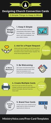 Simple Things To Keep In Mind When Designing Church Connection Cards With Regard To Church Visitor Card Card Template Business Template Business Plan Template