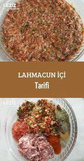 Lahmacun Rezept   – Turkish Food