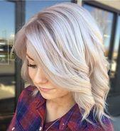 Die am meisten bevorzugten blonden kurzen Haar-Ideen der Damen für 2019  #bevor…