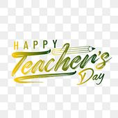 Lettering Of Happy Teachers Day With Brush Text Art Day School Teacher Png And Vector With Transparent Background For Free Download Lettering Father S Day Greeting Cards Father S Day Greetings