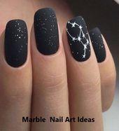18 erstaunliche Sommer Nail Art Ideen – Marble nails