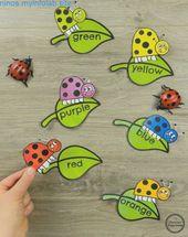 , #thematic garden crafts  – Matemáticas de jardín de infantes