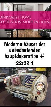 Moderne häuser der unbedeutenden hauptdekoration # 22:23 1