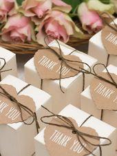 Gastgeschenke zur Hochzeit – die schönsten DIY-Ideen| LECKER