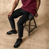 PUMA x Les Benjamins Men's Track Pants in Black size 2X Large