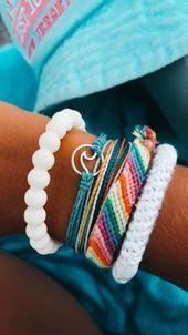 DIY Friendship Bracelets You Need to Make – Design & Roses – Extra stuff