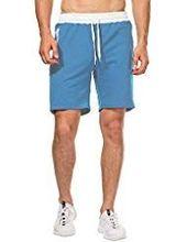 CHYU Mens Sports Jogging and Workout Shorts Fitness Short Pants Jogging Pants Be…
