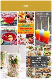 Party Drinks Nonalcoholic Punch Recipes 37+ Ideas   – Parties! – #Drinks #ideas …   – comfort-food