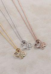 Diamond Butterfly Necklace, Natural Diamond Necklace, Animal Pendant Necklace, Butterfly Jewe…