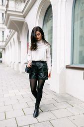 www.streetstyleci … Lassen Sie sich von den Leuten des Street Leather-Shorts-Blogs inspirieren …   – za kelly