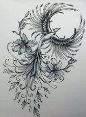 Phoenix original art example of jennifermckayhiggins