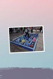 LOVELY – 33 brain-melting works by 3-D Sidewalk Chalk Art    – Sidewalk Art Ideas Illustratıon