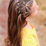 Which girl should choose hairstyle for school? Over 50 chic and original ideas – great