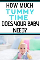 How Much Tummy Time Does Your Baby Need to Get the Benefits?