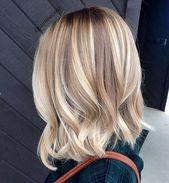 Cups und mittellanges Haar: Ideen, die inspirieren | Frisur einfach und …   – Coiffure