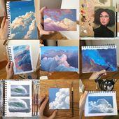 """Emily Mackey auf Instagram: """"# 2017bestnine ☁️Nur viele Wolkenbilder? Welches ist dein Favorit? Dieses Jahr war wirklich schön, aber verrückt…"""
