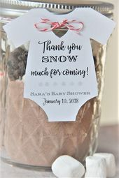 10 tags ~ Thank you SNOW much for coming ~ Winter ~ Baby Onesie Gift Tags ~ Baby Shower Party Favor – Products