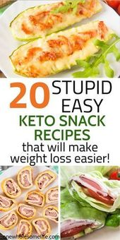 20 Super Delicious Keto Snack-Rezepte zum Abnehmen   – Diät Informationen