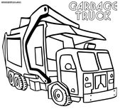Garbage Truck Coloring Page New Semi Truck Coloring Pages Awesome Tipper Truck F…