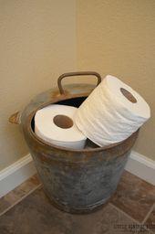 Photo of Farmhouse Powder Bathroom – Sarah Joy