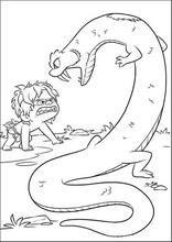 A Viagem De Arlo Libro De Dinosaurios Para Colorear Paginas