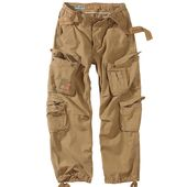 Surplus Vintage Mens Airborne Combat Trousers Cargo Work Wear Army Pants Coyote