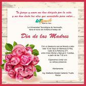 Invitación Día De Madres Feliz Día Mamá Frases Feliz Día