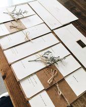 DIY Hochzeitseinladungen: Tipps für die Perfektio…