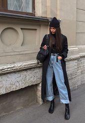 Street Style : idées inspiration tenues automne-hiver #lifestyle #fashion #mode #trendy @bebadass @christmas @inspiration