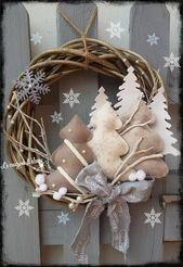 Weihnachten – Kränze – #Kränze #Weihnachten #h…