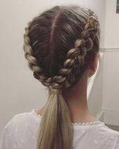 Neueste Geflochtene Lange Frisuren für Frauen -  #Frauen #Frisuren #für #Geflo...,  #Frauen #...