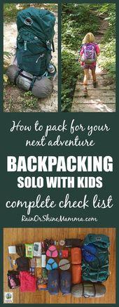 Que faut-il apporter lors de vos randonnées en solo? Une liste de contrôle complète pour votre prochaine aventure   – Camping Gadgets