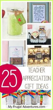 25 Awesome Teacher Appreciation Gift Ideas