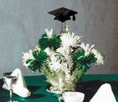 graduation table centerpieces | Graduation Centerpieces and Party Favors, Party Centerpieces, Unique ...
