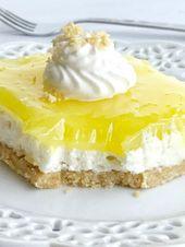 Zitronenplätzchen-Käsekuchen-Freude