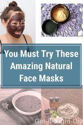Beste DIY Gesichtsmaske Rezepte, um Falten loszuwerden und Ihre Haut zu befeucht…
