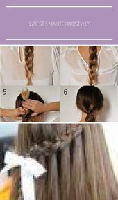 Great Totally Free Beste 5-Minuten-Frisuren – Schritt für Schritt 5-Minuten-Hoc…
